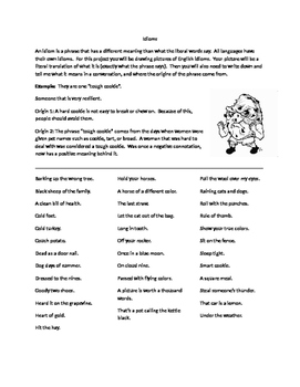 Idioms Picture Project