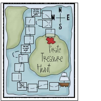 Idioms Pirate Treasure Hunt