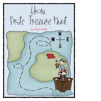 Idioms Pirate Treasure Hunt
