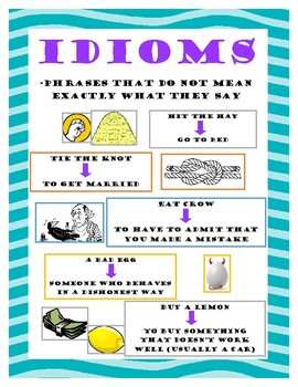 Idioms Poster