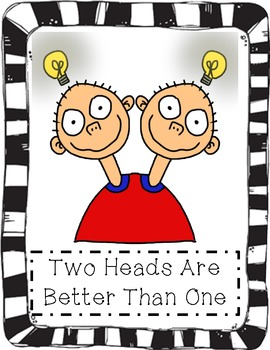 two heads are better than one idiom