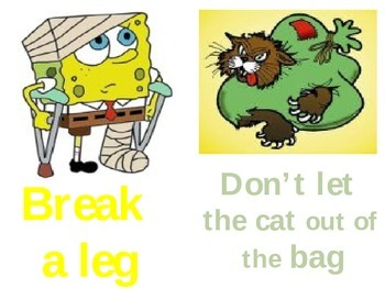 Idioms Power Point