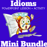 IDIOMS ACTIVITIES (IDIOMS POWERPOINT + ACTIVITY)