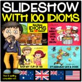 Idioms PowerPoint Slideshow - 100 x Cartoon Themed Idioms