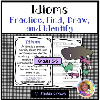 Idioms: Practice, Find, Draw, and Identify