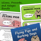 Idioms, Proverbs, and Adages Bundle