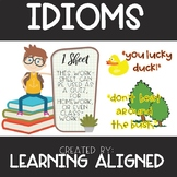 Idioms Quiz or Classwork or Homework