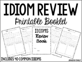 Idioms Review Printable Booklet