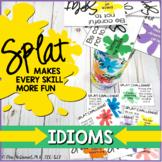 Idioms SPLAT  |  A language skill game