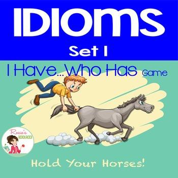 Idioms Set 1