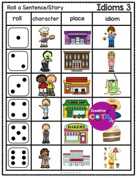 Idioms Activities and Worksheets Set 1 Bundle