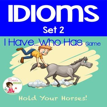 Idioms Set 2