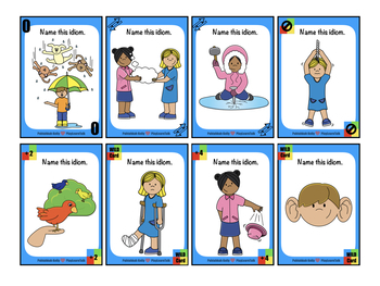 Idioms - (#1 Edition) Speech Therapy Playing Cards