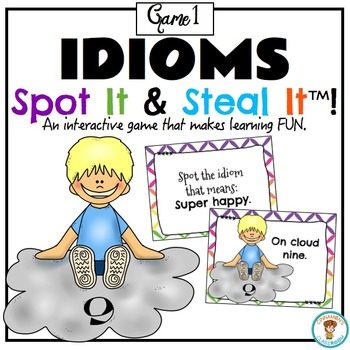 Idioms Spot and Steal It Game! ‪