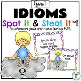 Idioms Spot and Steal It Game! 