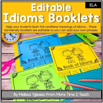 Idioms: Tab-book focusing on 14 popular idioms