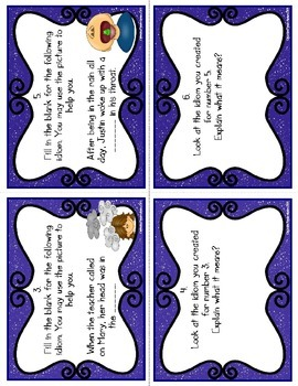 Idioms Task Cards (CC Aligned)