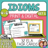 Idioms Task Cards - Set 1