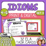 Idioms Task Cards  (Set 3)