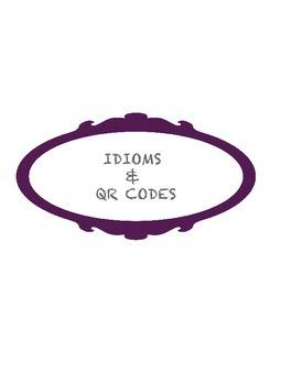 Idioms + Technology QR Code Activity