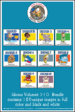Idioms Volumes 1-7  Cartoon Clipart Bundle: Idioms cartoon