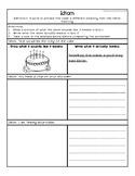 Idioms Worksheets by Elementary School SLP
