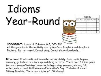 Idioms Year-Round