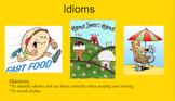 Idioms and Cliches