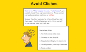 Idioms and Cliches