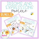 Idioms and Expressions Posters - BUNDLE