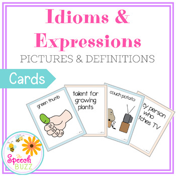Idioms and Expressions - The Ultimate Set!!