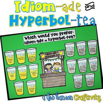 Idioms and Hyperboles Craftivity