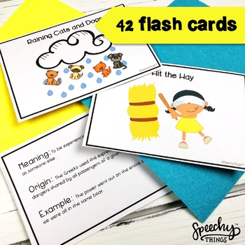 Idioms Worksheets & Cards - Figurative Language Worksheets - Idioms Activity