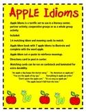 Idioms as Easy as Apple Pie:  Literacy Fun!