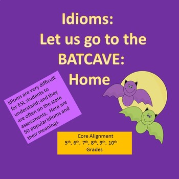 Idioms for ESL Students