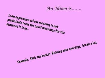 Idioms for Mimio