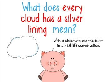 Idioms for SMART Board: When Pigs Fly