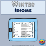 Idioms for Winter BOOM Cards