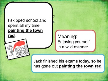 Idioms for your students!
