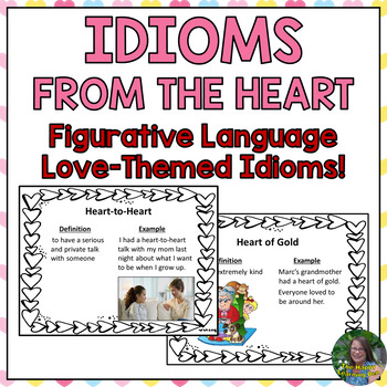 Valentine's Day Idioms PowerPoint Lesson and Quiz