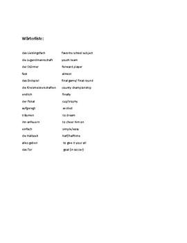 Idioms in Use: Es geht um die Wurst