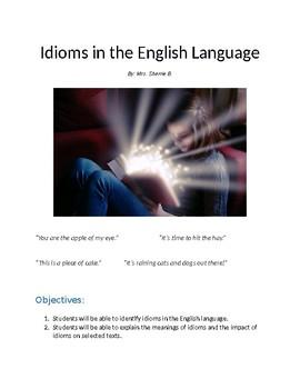 Idioms in the English Language