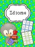 Idioms (level 1 & 2)