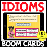 Idioms in Context BOOM CARDS Distance Learning