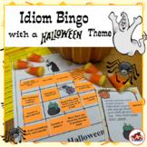 Idiom Bingo with a Halloween Theme