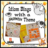 Idiom Bingo with a Halloween Theme