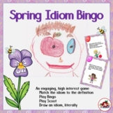 Idiom Bingo with a Spring Theme