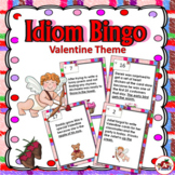 Idiom Bingo with a Valentine Theme