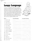 Idioms worksheet Activity