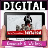 Iditarod Alaskan Sled Dog Racing Digital Research and Writ